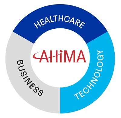 healthcare business technology intersection icon